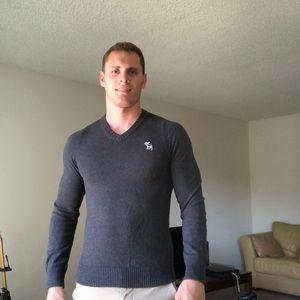 Dark Gray A&F Sweater